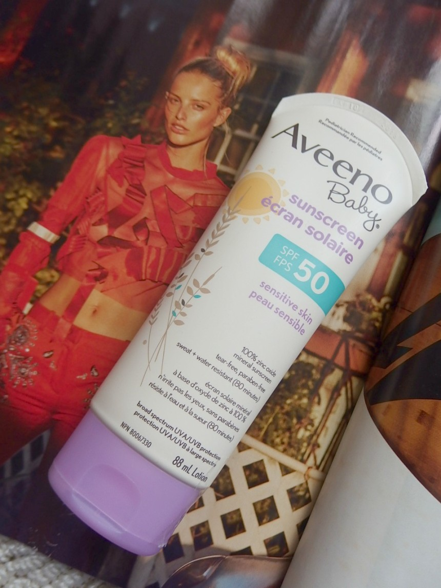 Baby Sunscreen Aveeno