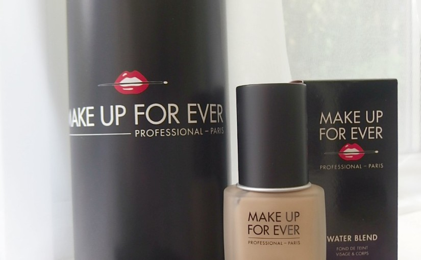 Make Up For Ever Water Blend Foundation – It's All About That Base