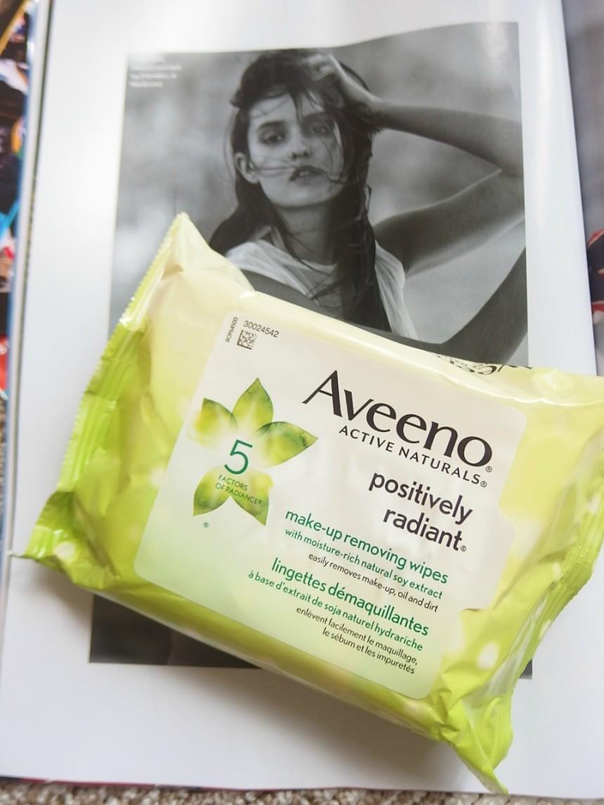 Makeup Remover Wipes Aveeno