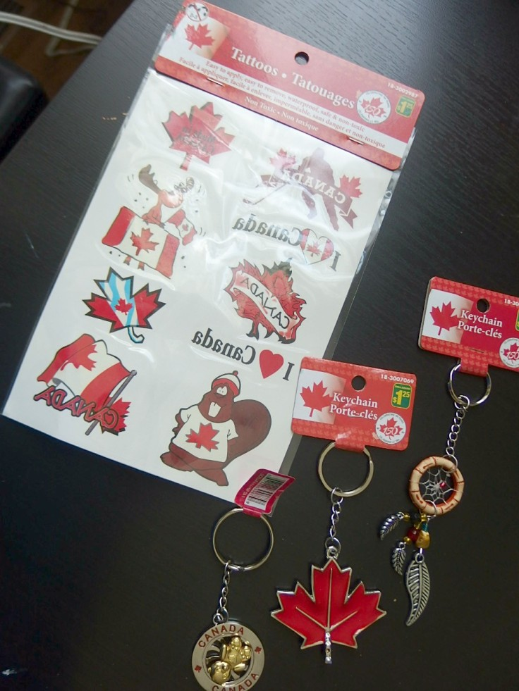 Tattoo and keychains