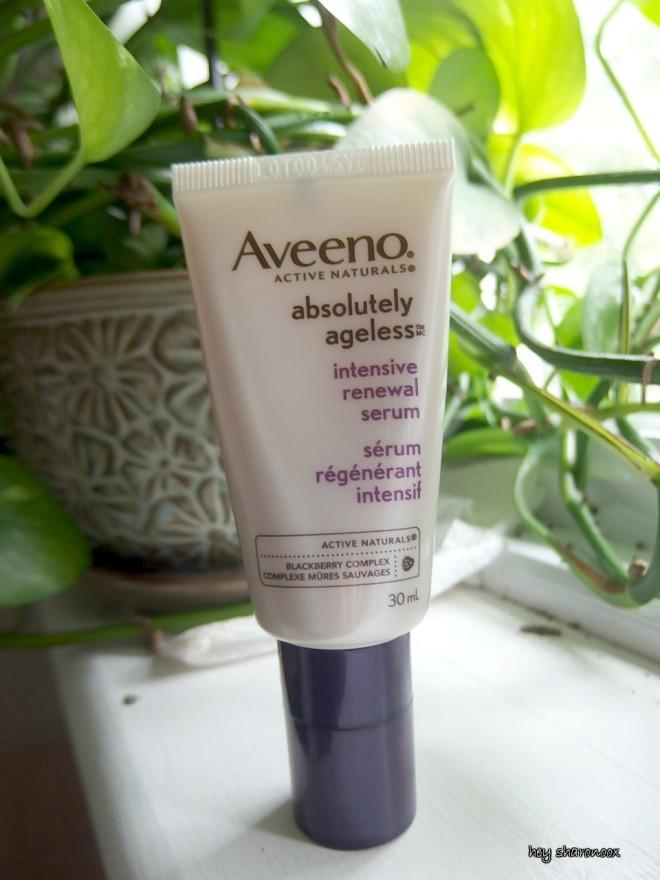 #aveeno renewal serum