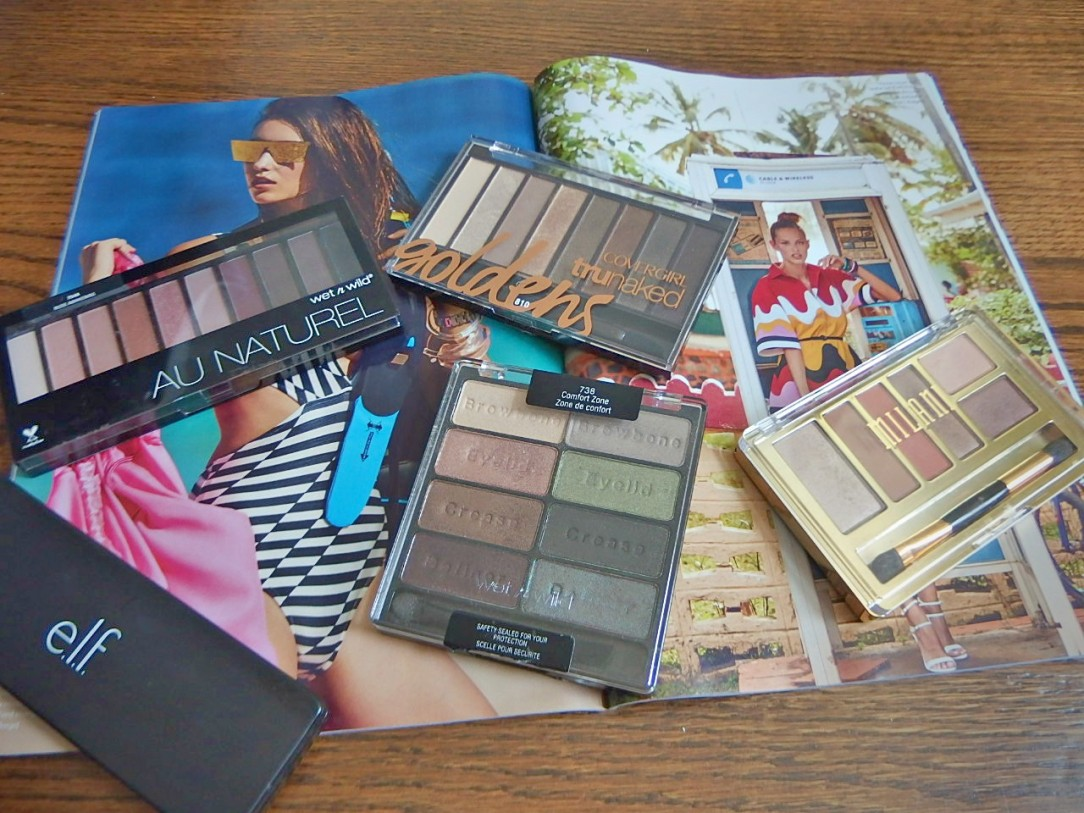 Favorite Drugstore Palettes