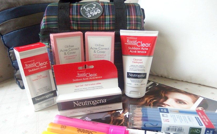 Neutrogena Back To School Supplies
