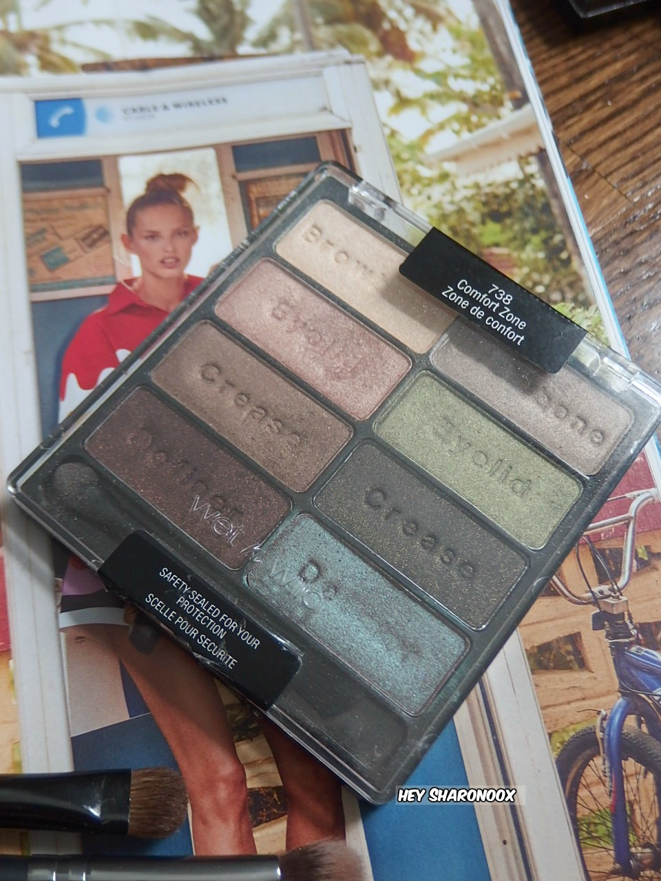 wnw comfort zone palette