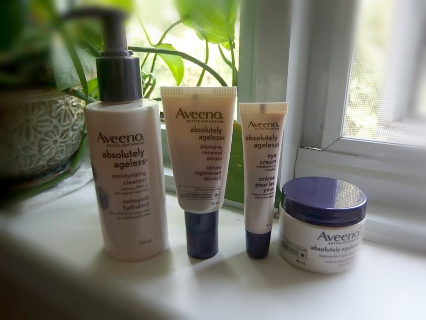 Aveeno anti aging products
