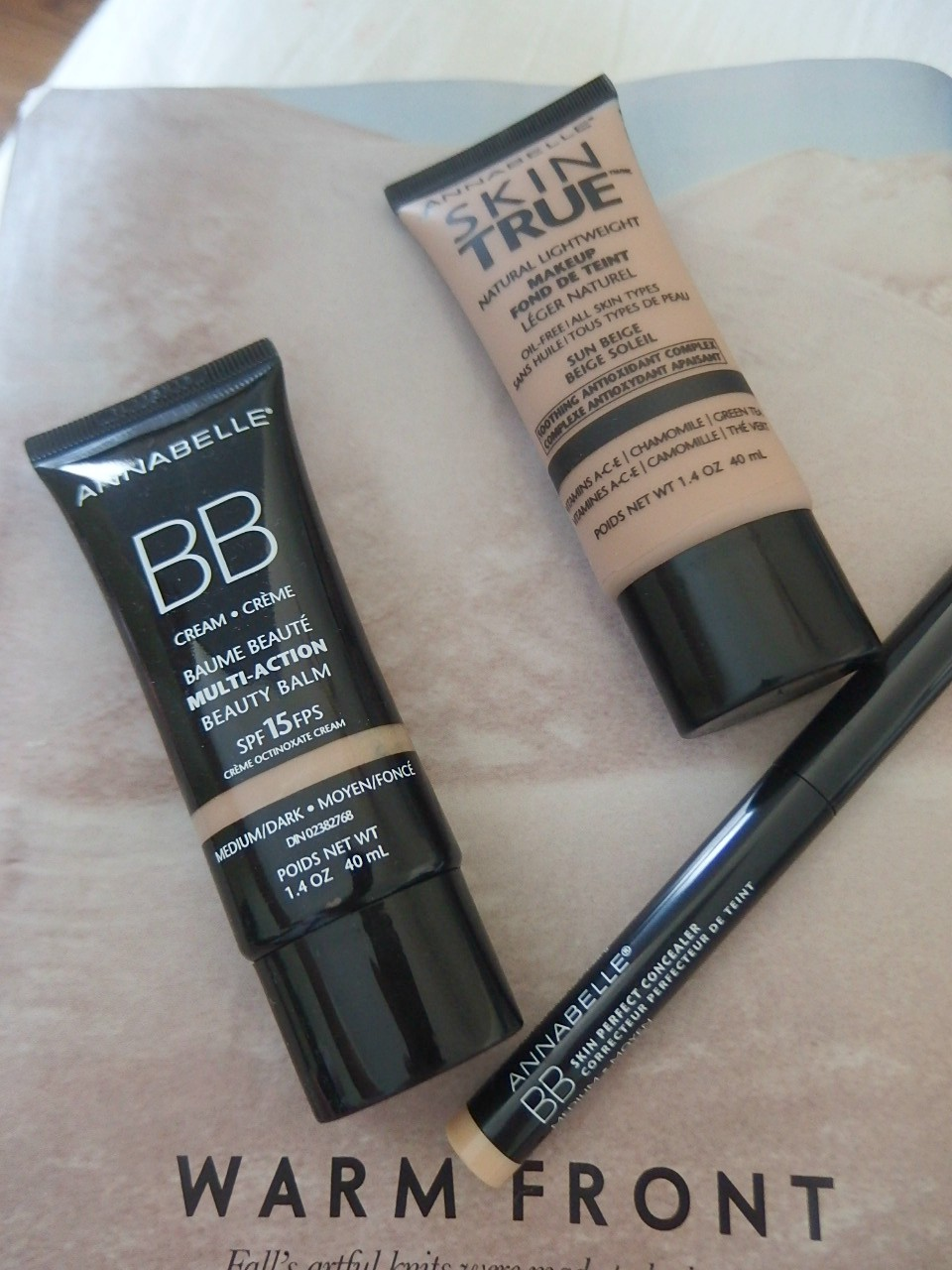Annabelle Drugstore Beauty Products