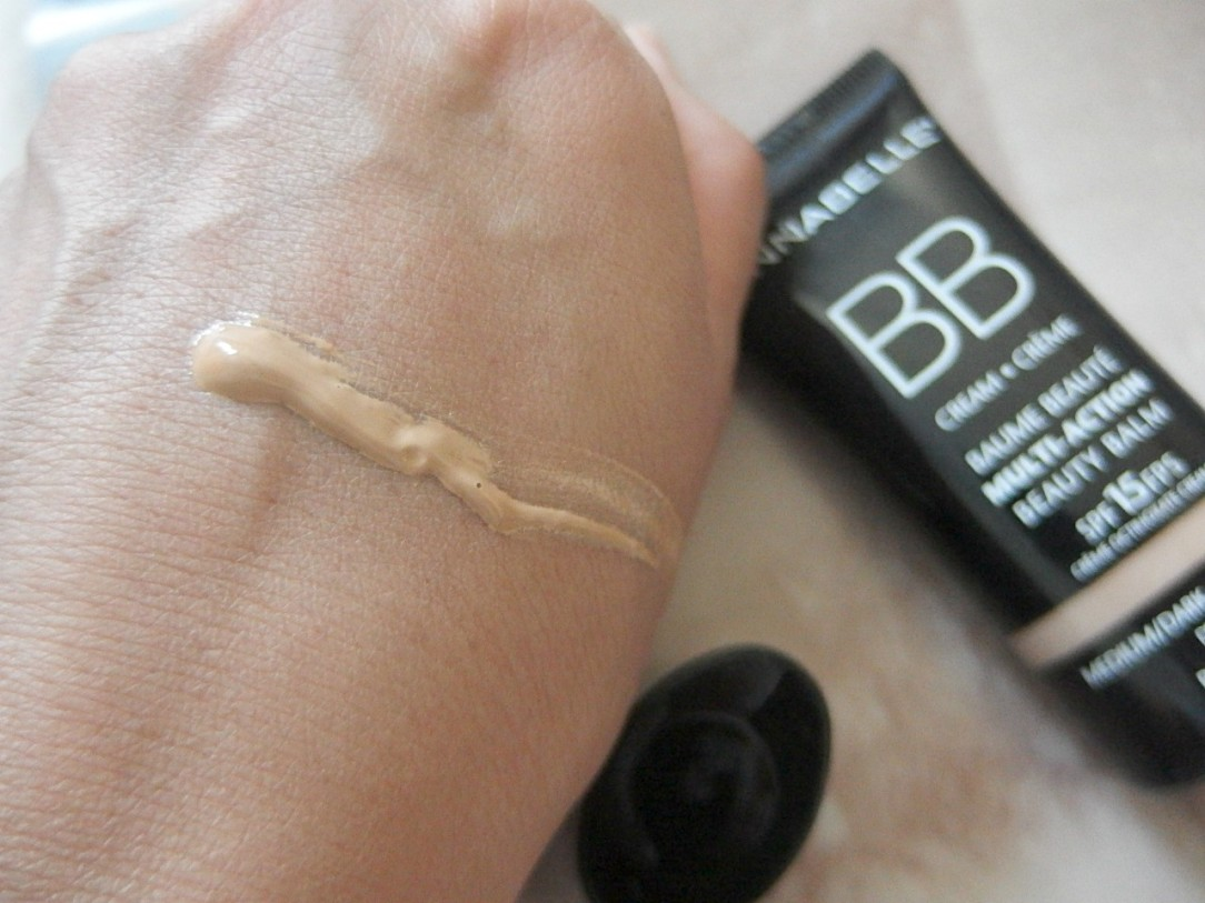 Annabelle bb cream swatch