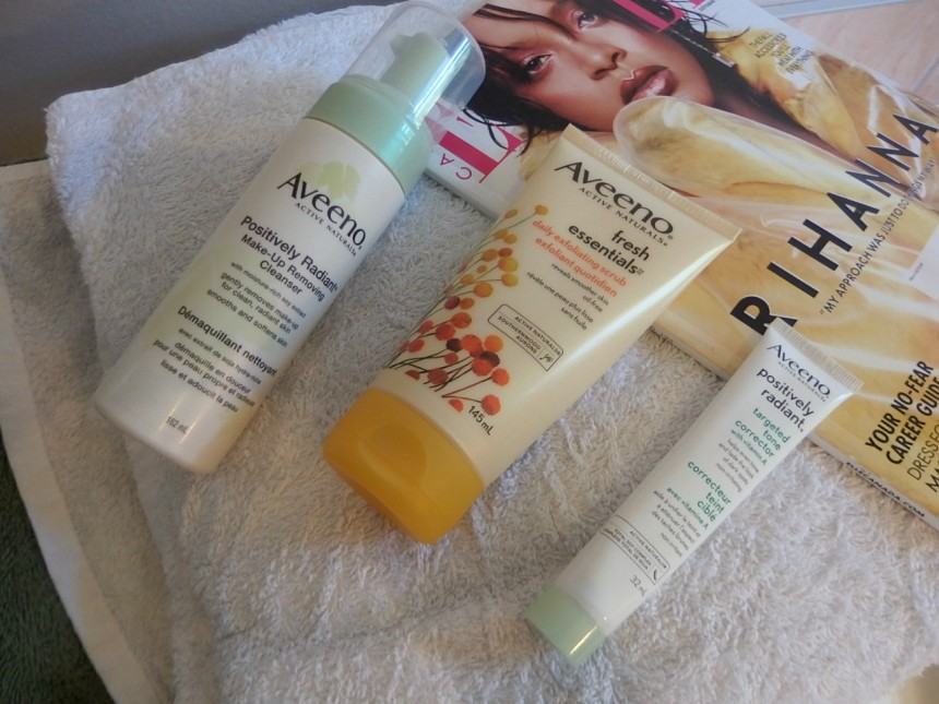 Aveeno Brand Spotlight skincare
