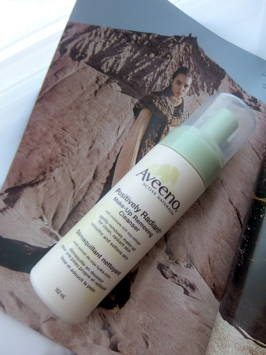 Aveeno makeup removing cleanser