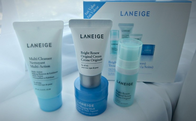 Beauty Starts with Laneige Brightening Kit