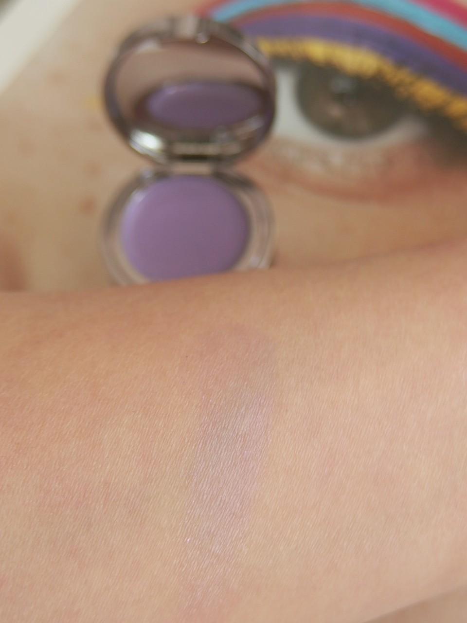 Lise watier color swatch duo shadow