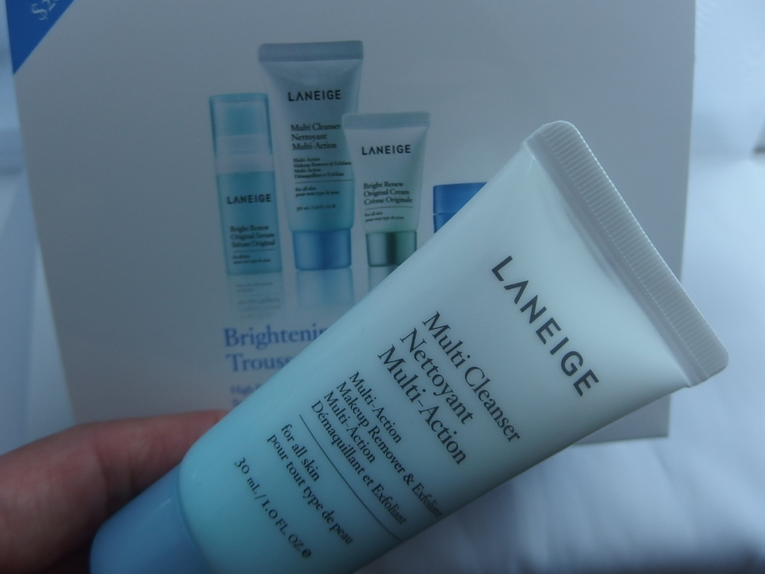 Beauty Starts With Laneige Brightening Kit Hey Sharonoox Multi Cleanser