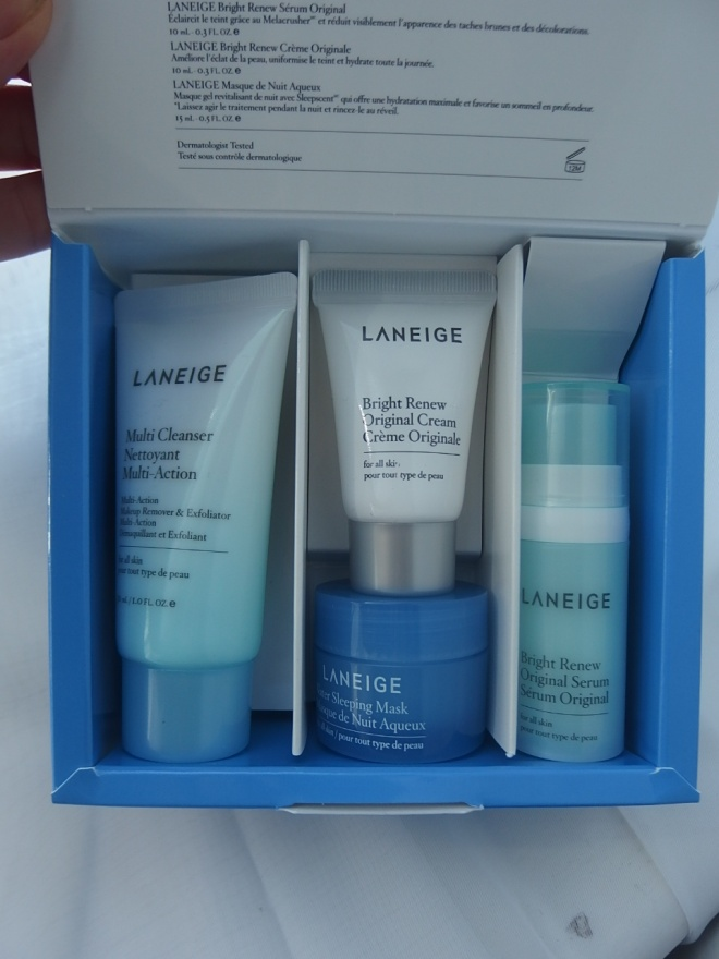 Laneige Brightening Kit