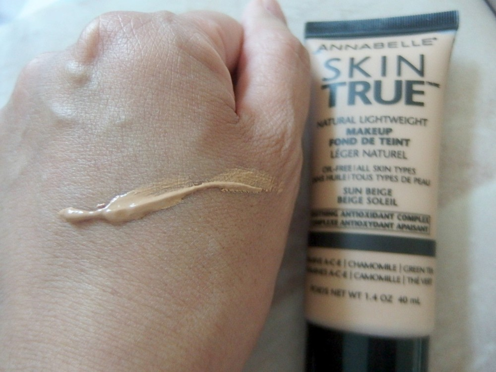 Skin true color swatch