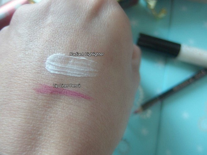 Boe Beauty swatches
