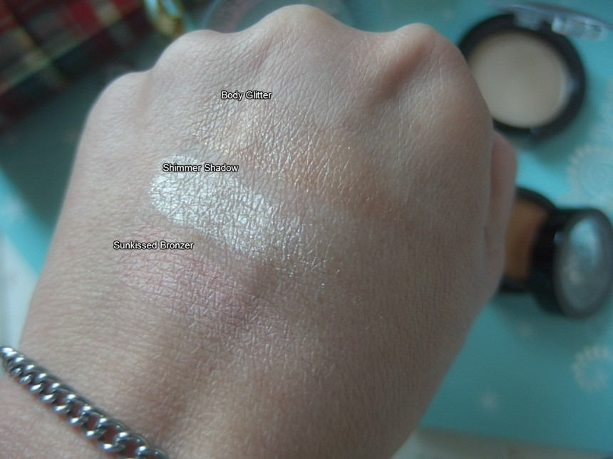 Color swatches Boe Beauty