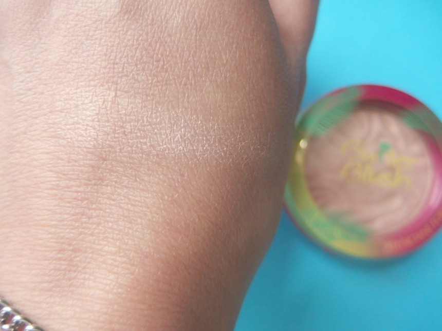 Physican Formula Butter Blush swatch