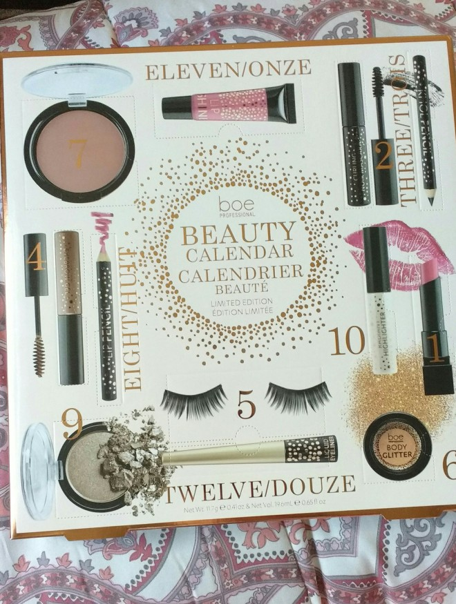 boe beauty advent calendar