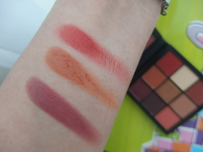 Huda Obsession Warm Brown Swatch