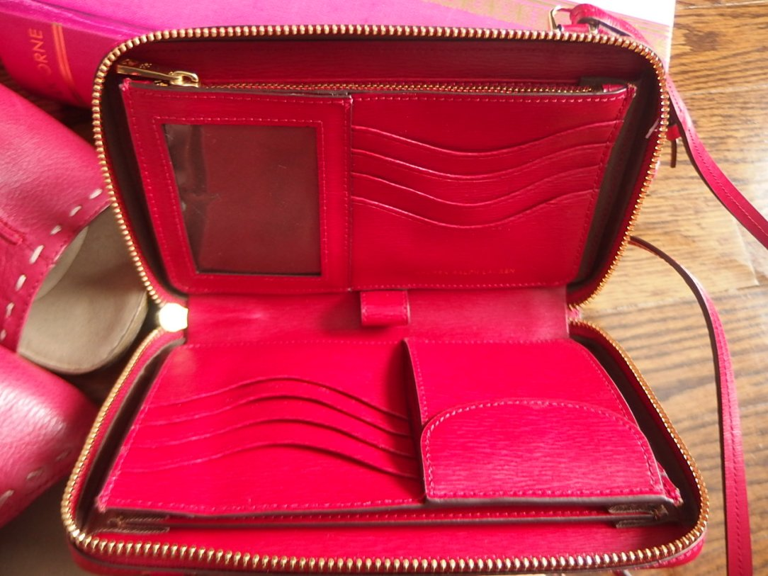 Inside Lauren Ralph Lauren bag