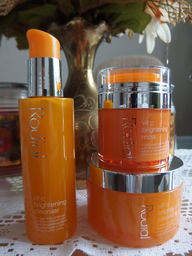 #Rodial Vit C Brightening Skincare