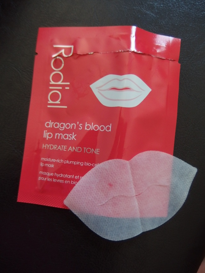 dragon's blood lip mask