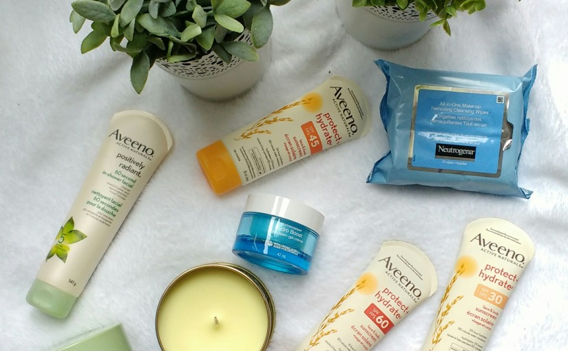 My Favorite Drugstore Skincare Products: Aveeno & Neutrogena