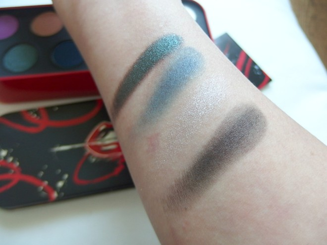 #Makeupforver Artistic Palette Swatch Row 2