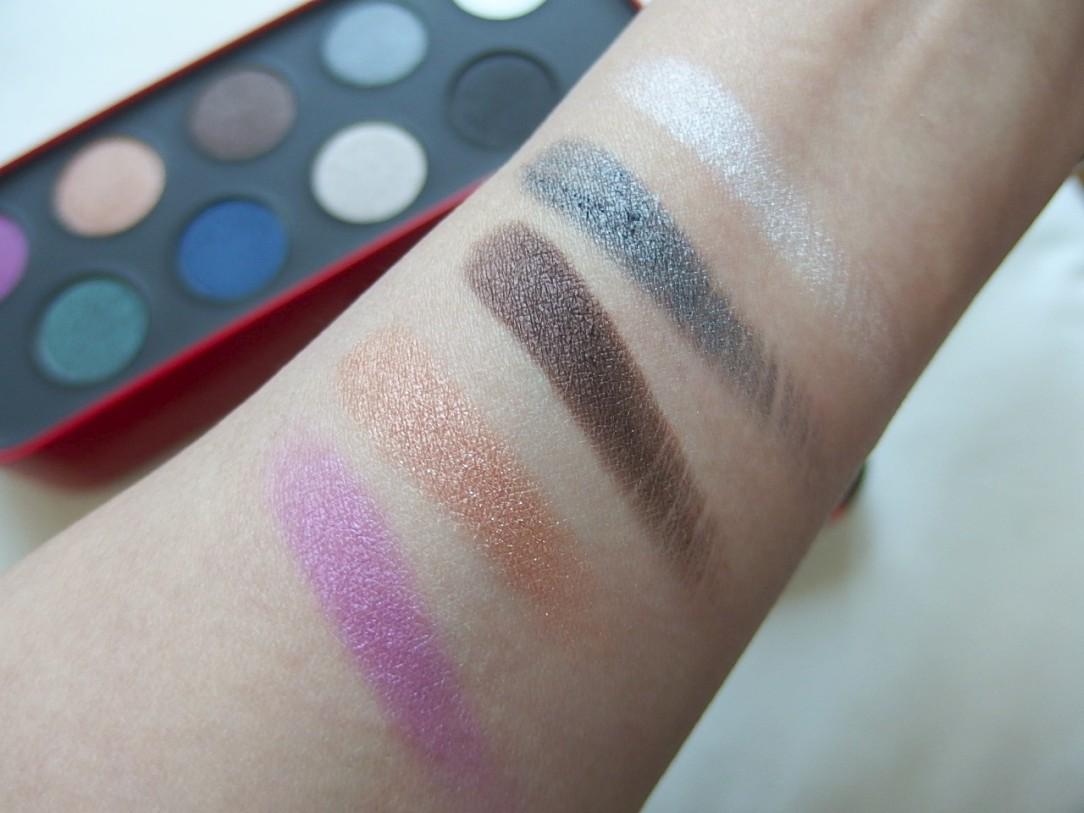 #Makeupforver Artistic Palette Swatch