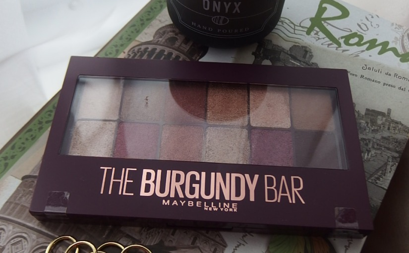 The Burgundy Bar Eyeshadow Palette Is Finally Here!