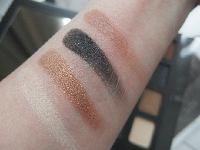 NYX wanderlust eyeshadow swatches