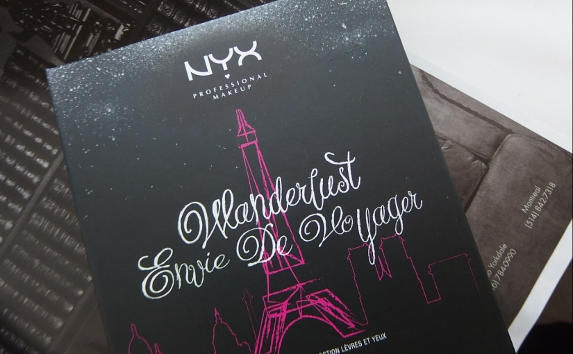 NYX Wanderlust PARIS Photo, Swatches & Review