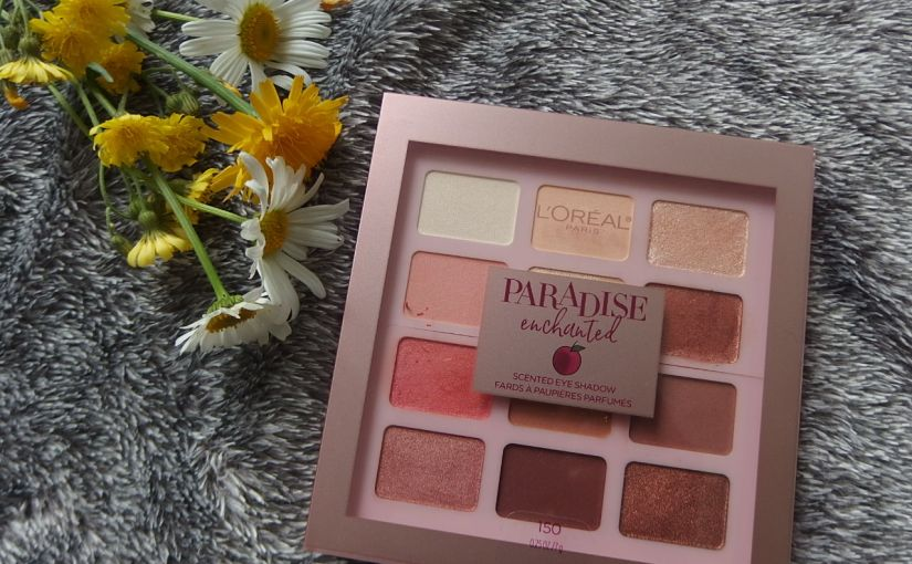 L'Oreal Paris Paradise Enchanted Scented Eyeshadow Review & Swatches