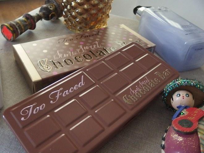 Too Faced Semi- Sweet Chocolate Bar