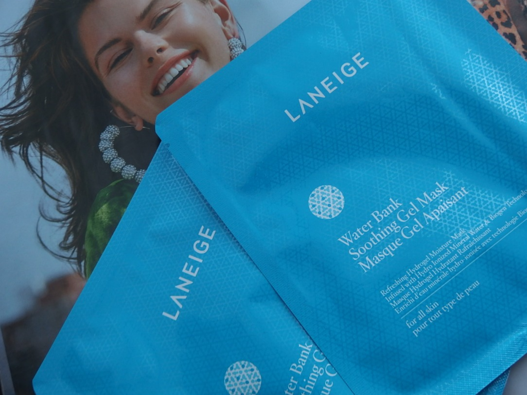 Water bank mask by Laneige