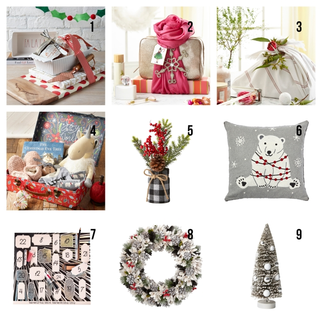 Marshalls Christmas Gift Guide decors